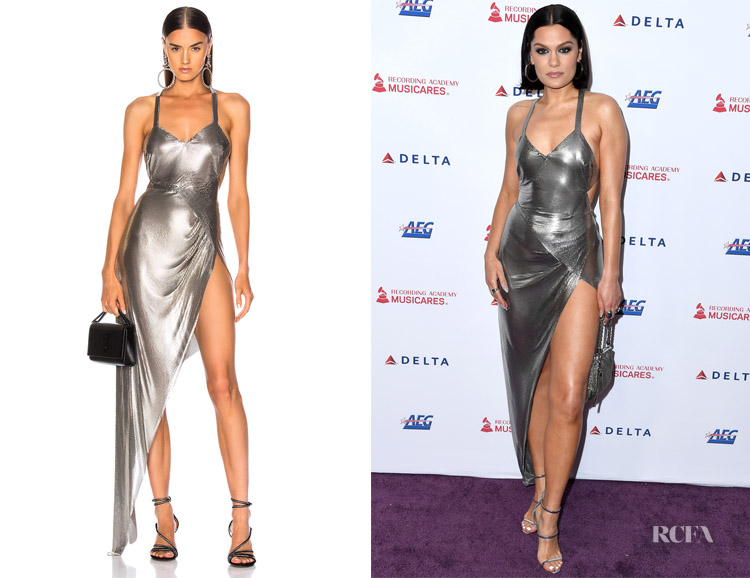 Jessie J's Fannie Schiavoni  Izabel Dress