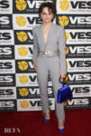 Joey King Wore Area To The 18th Annual Visual Effects Society Awards