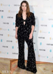 Kaitlyn Dever Wore Azzaro To The Vanity Fair EE Rising Star BAFTAs Pre Party