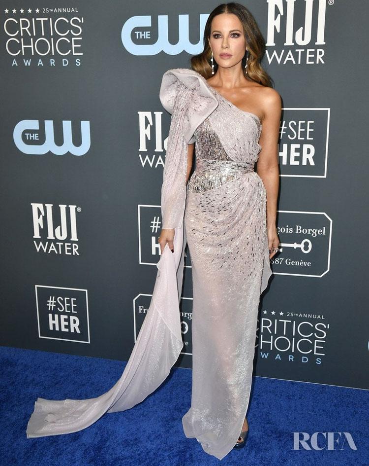 Kate Beckinsale In Julien Macdonald - 2020 Critics Choice Awards