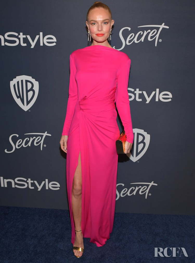 Kate Bosworth Wore Prabal Gurung To The InStyle Golden Globe After Party