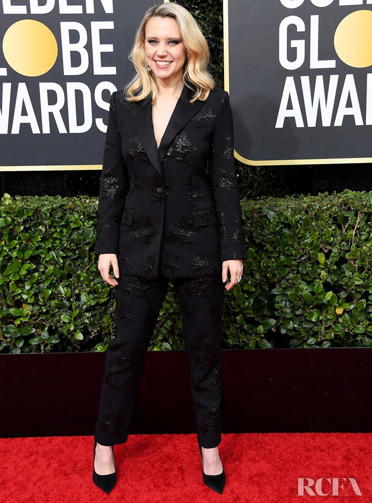 Kate McKinnon in Prabal Gurung 2020 golden globe awards