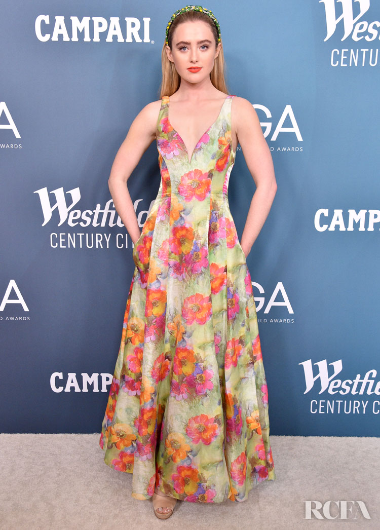 Kathryn Newton Wore Prabal Gurung To The 2020 Costume Designers Guild Awards