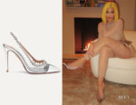 Kylie Jenner's Aquazzura Temptation Crystal Pumps