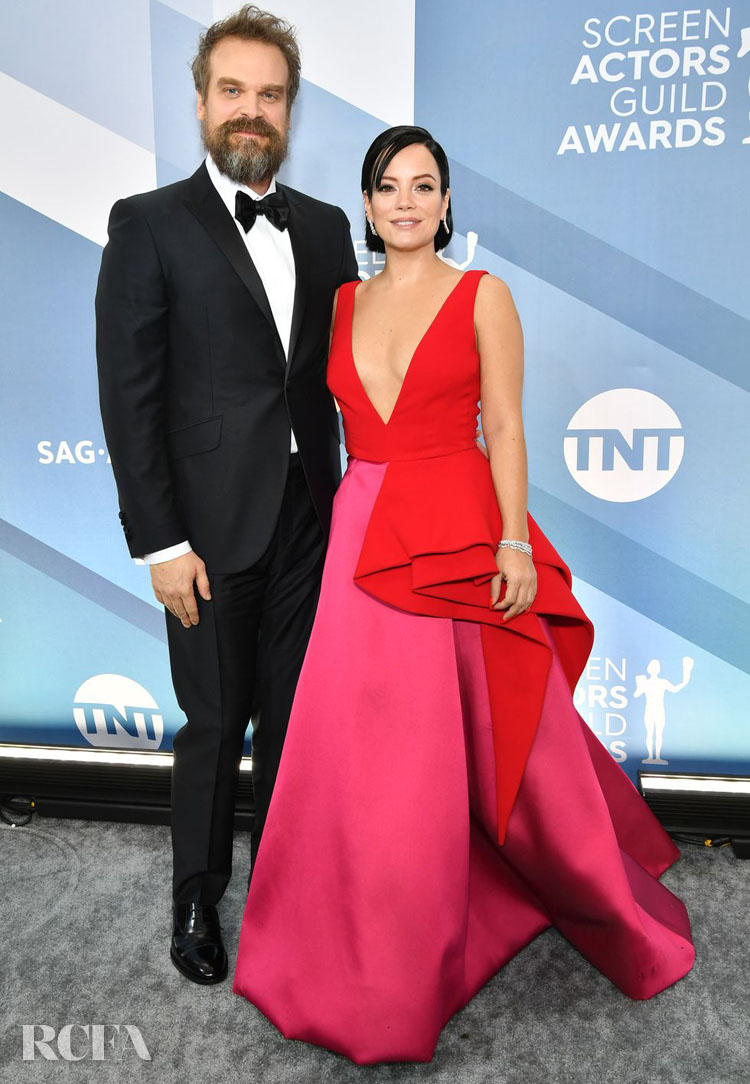 Lily Allen In Azzi & Osta - 2020 SAG Awards