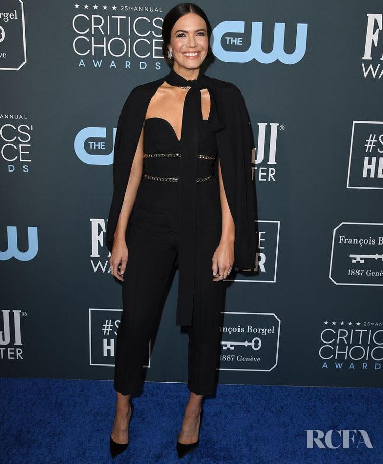Mandy Moore In Elie Saab - 2020 Critics' Choice Awards