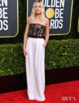 Margot Robbie In Chanel Haute Couture - 2020 Golden Globe Awards