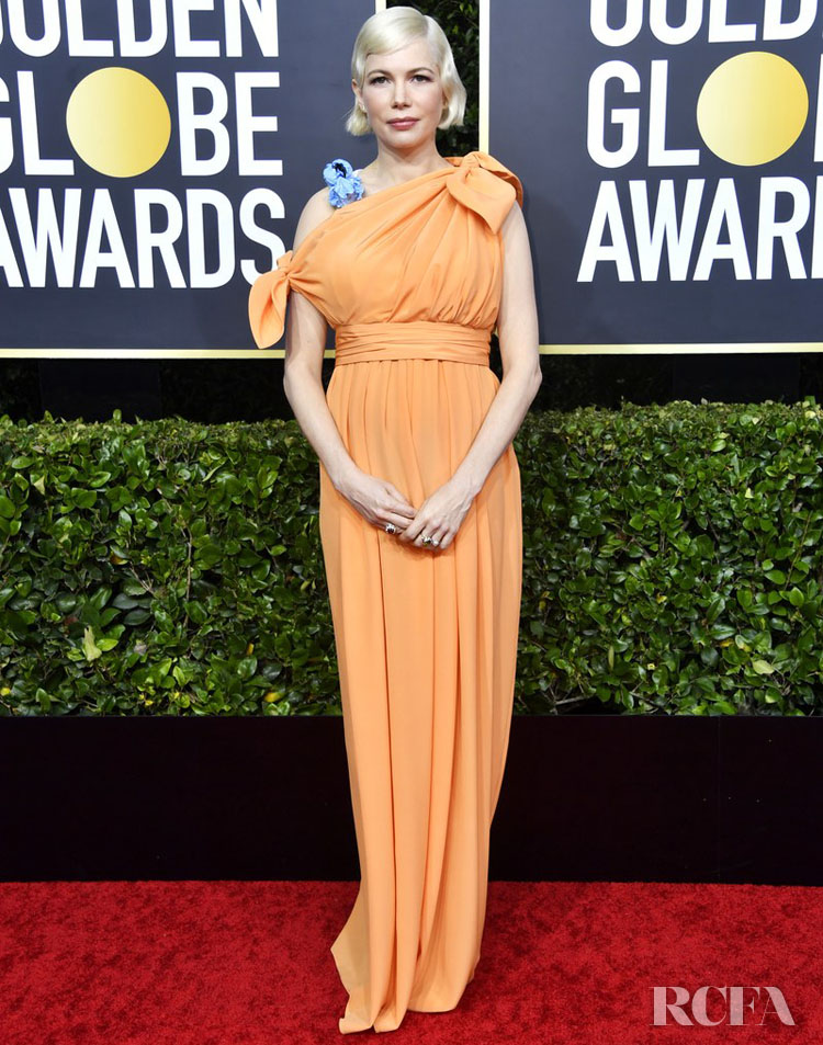 Michelle Williams In Louis Vuitton - 2020 Golden Globe Awards