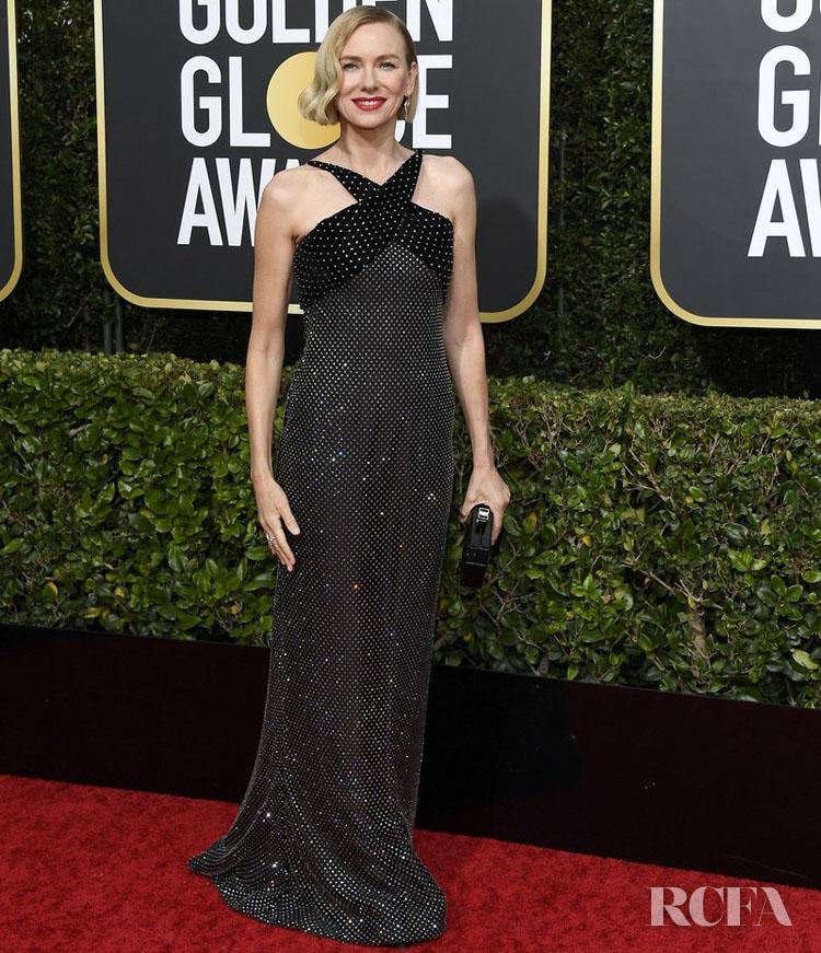 Naomi Watts In Armani Prive - 2020 Golden Globe Awards