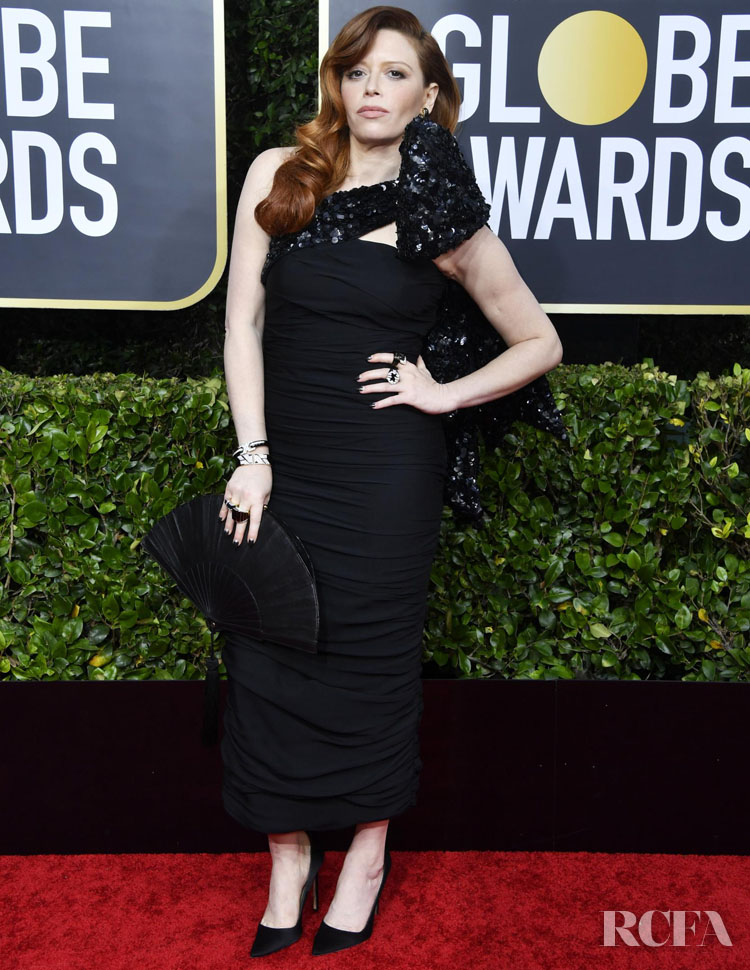 Natasha Lyonne in Moschino - 2020 Golden Globe Awards