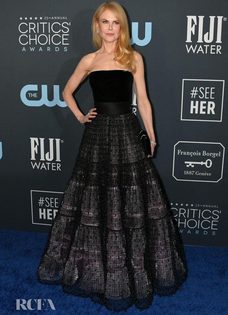 Nicole Kidman In Armani Prive - 2020 Critics' Choice Awards