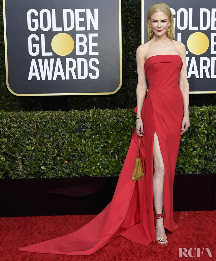 Nicole Kidman In Atelier Versace - 2020 Golden Globe Awards
