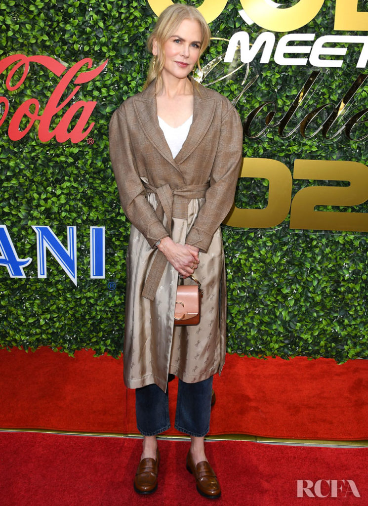 Nicole Kidman Wore Chloe To The Gold Meets Golden Celebration