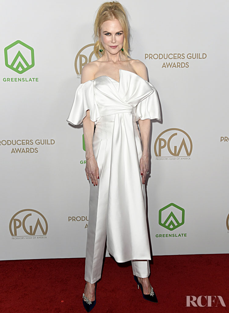 Nicole Kidman Wore J. Mendel To The 2020 Producers Guild Awards