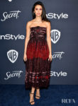 Nina Dobrev Wore Christian Dior To The InStyle Golden Globes After Party