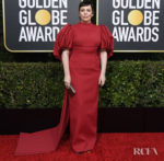 Olivia Colman In Emilia Wickstead - 2020 Golden Globe Awards