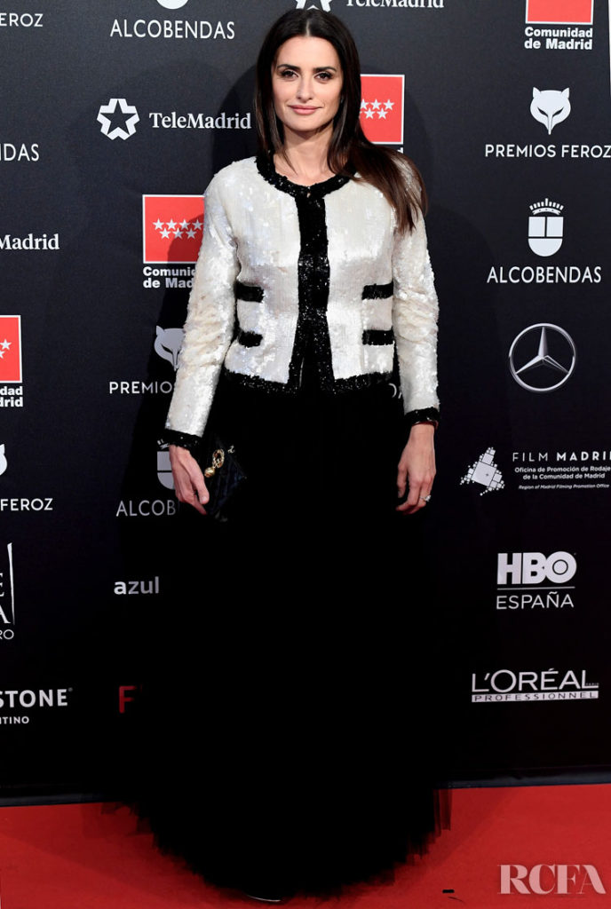 Penelope Cruz Wore Chanel To The 2020 Feroz Awards