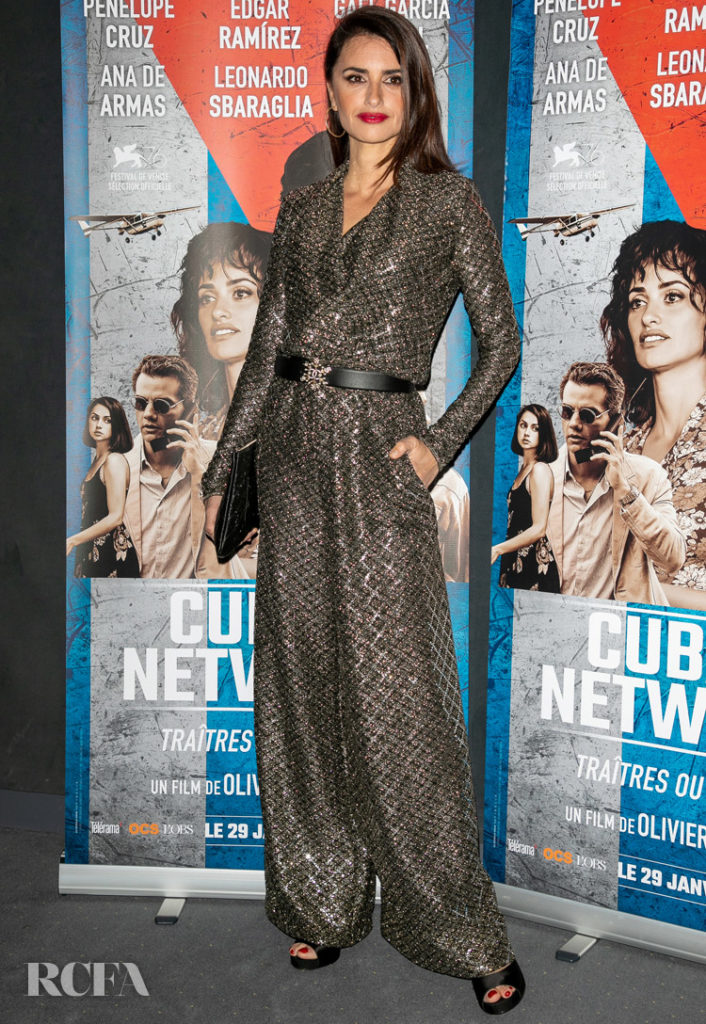 Penelope Cruz Wore Chanel To The 'Wasp Network' Paris Premiere