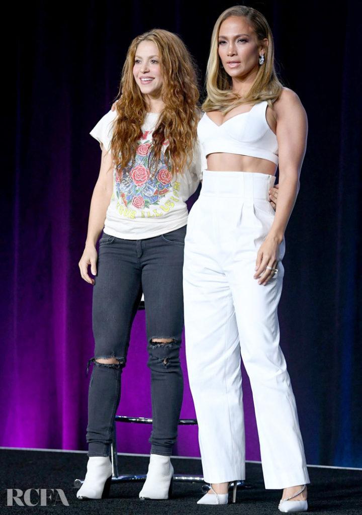 Pepsi Super Bowl LIV Halftime Show Press Conference with Shakira & Jennifer Lopez