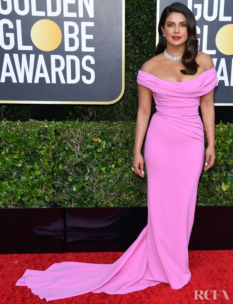 Priyanka Chopra In Vivienne Westwood - 2020 Golden Globe Awards