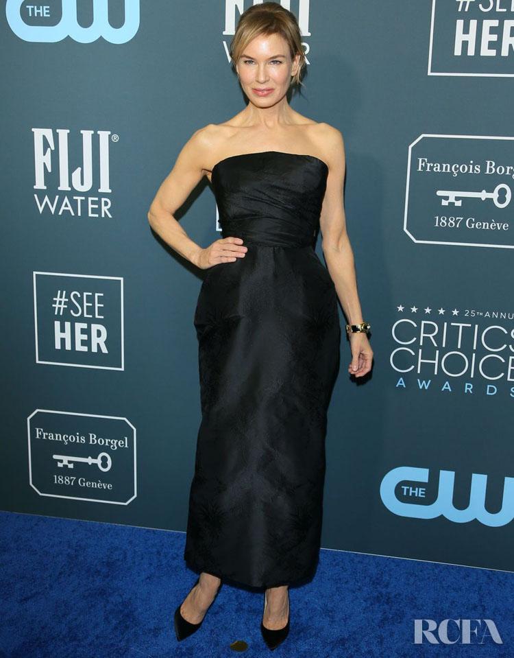 Renee Zellweger In Christian Dior Haute Couture - 2020 Critics' Choice Awards
