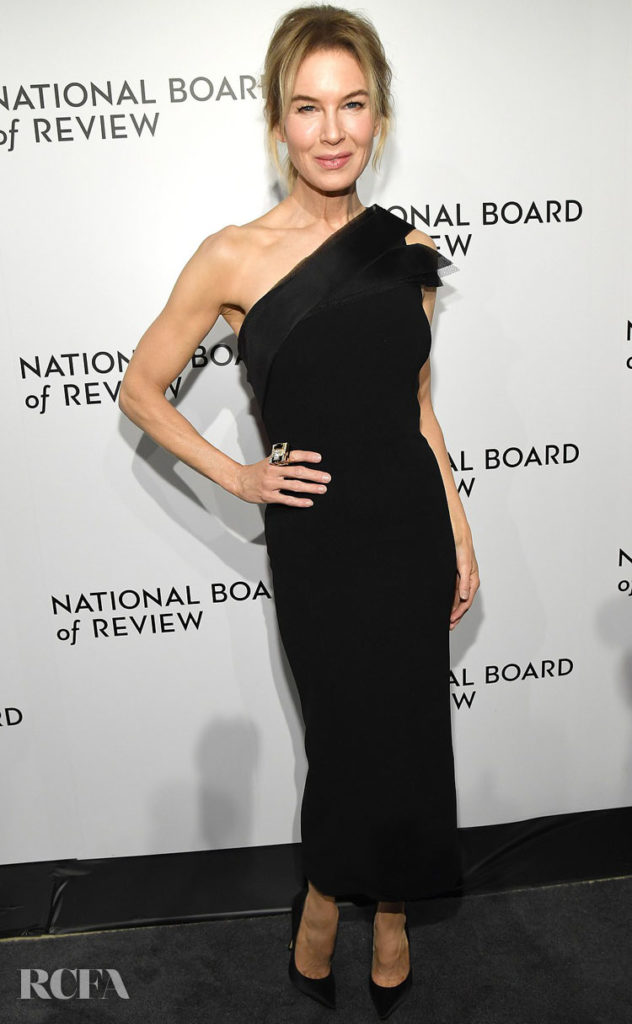Renée Zellweger Wore Atelier Caito For Herve Pierre To The 2020 National Board of Review Gala