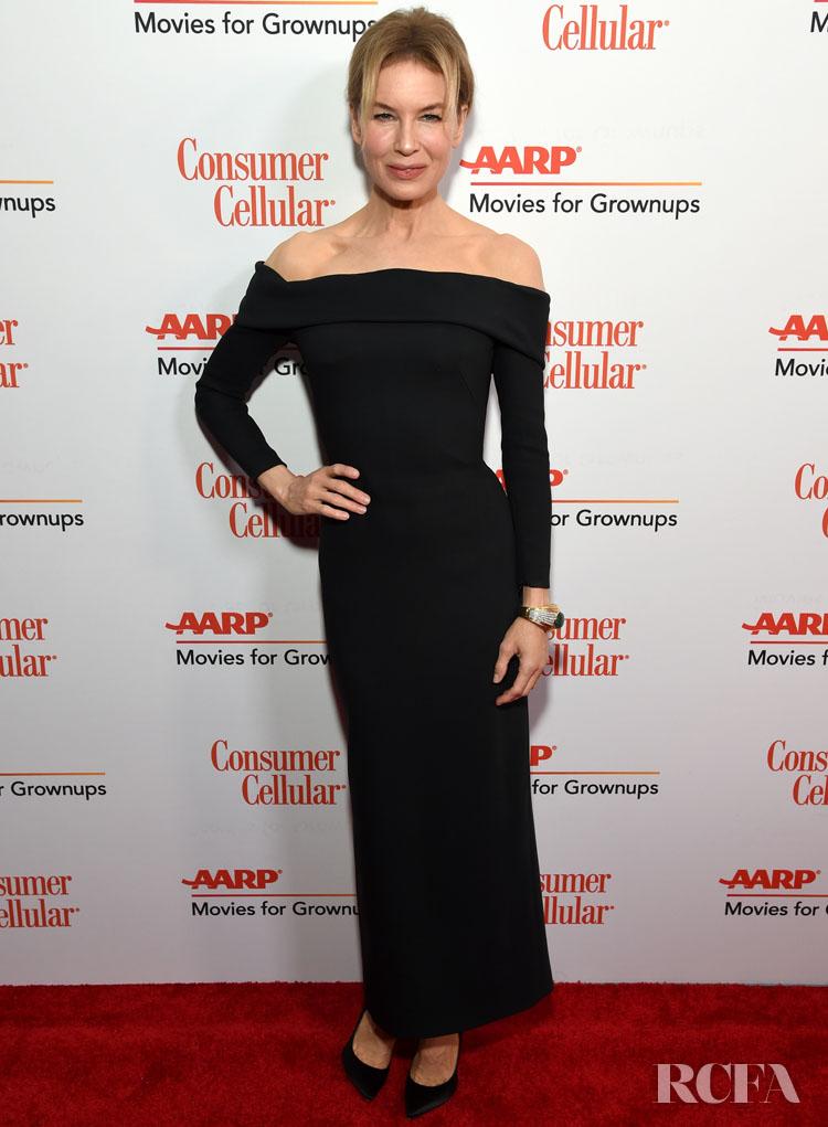 Renée Zellweger Wore Louis Vuitton To The AARP Awards