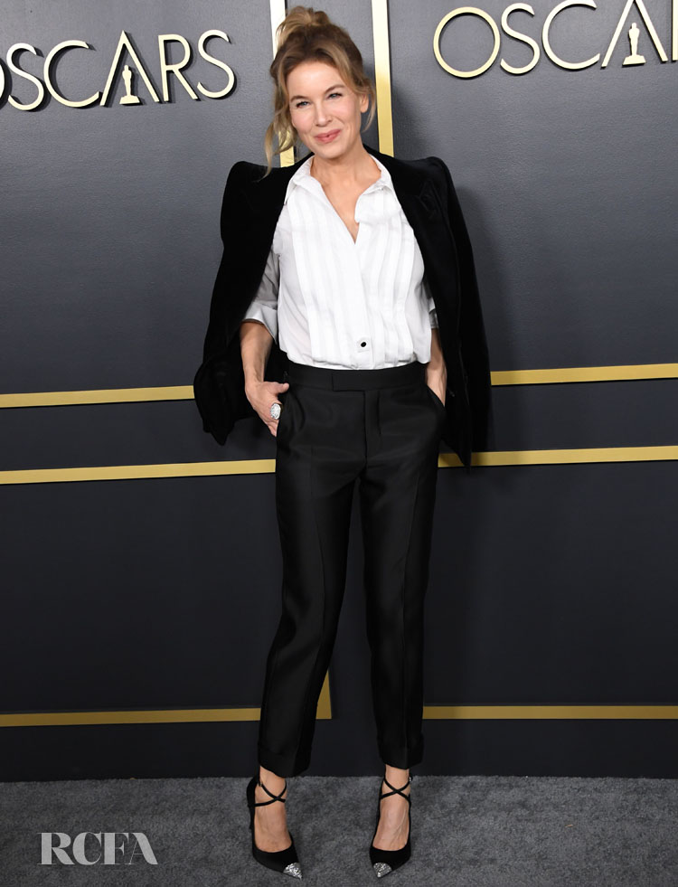 Renée Zellweger Wore Tom Ford To The Oscars Nominees Luncheon