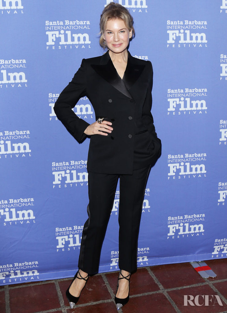 Renee Zellweger Wore Tom Ford To The Santa Barbara International Film Festival American Riviera Awards