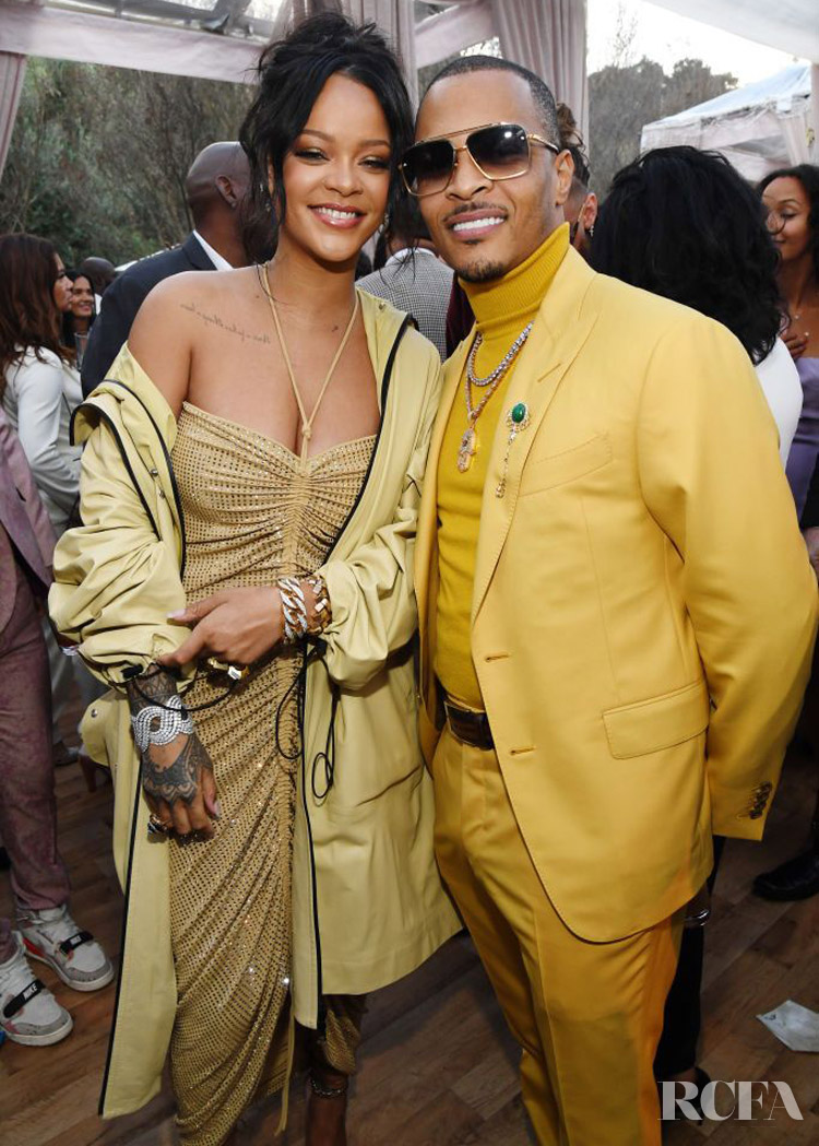 Rihanna Wore Bottega Veneta To Roc Nation's The Brunch