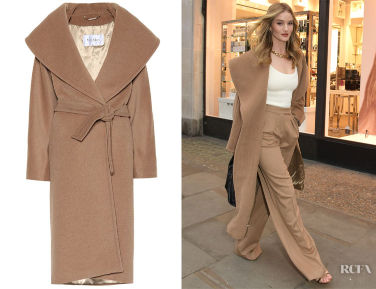 Rosie Huntington-Whiteley's Max Mara Coat
