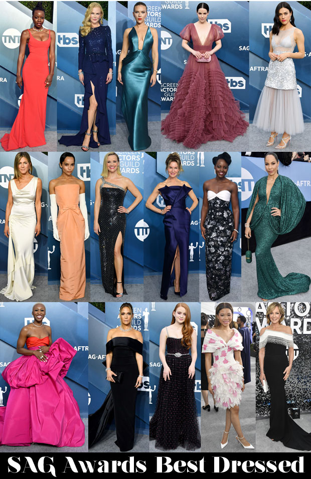 Who Was Your Best Dressed At The 2020 SAG Awards?