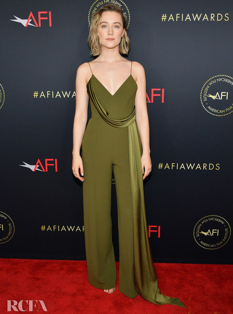 Saoirse Ronan In Alex Perry 2019 AFI Awards