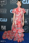 Saoirse Ronan In Erdem - 2020 Critics' Choice Awards