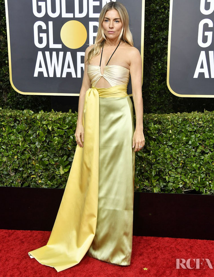 Sienna Miller In Gucci - 2020 Golden Globe Awards