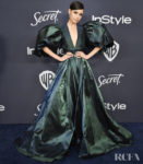 Sofia Carson Wore Elie Saab To The InStyle Golden Globes After Party
