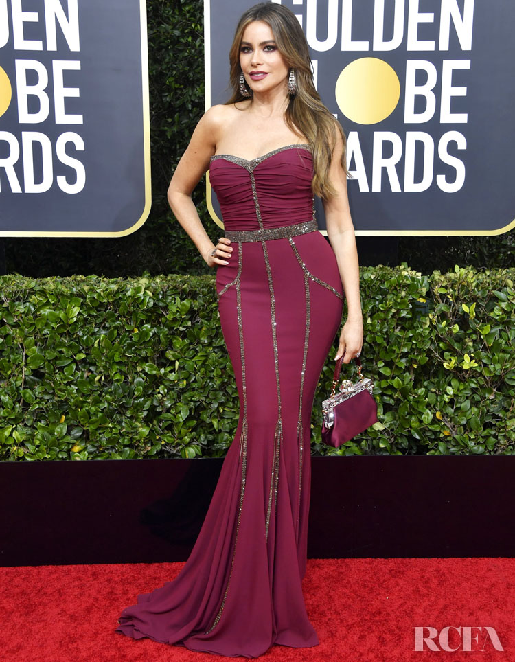 Sofia Vergara In Dolce & Gabbana - 2020 Golden Globe Awards