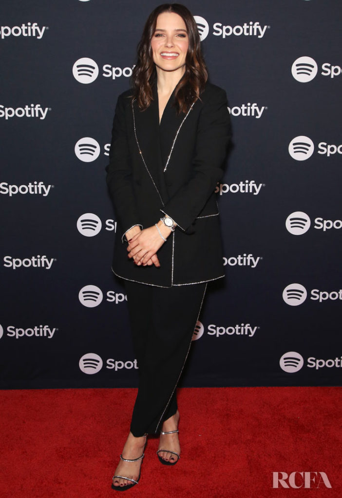 Sophia Bush Wore MSGM To The Spotify Supper During CES 2020