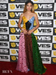 Storm Reid Wore Rosie Assoulin To The 18th Annual Visual Effects Society Awards