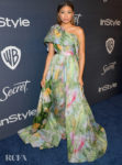Storm Reid Wore Rosie Assoulin To The InStyle Golden Globes After Party