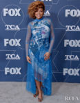 Taraji P. Henson Wore Preen by Thornton Bregazzi To The FOX Winter TCA All Star Party