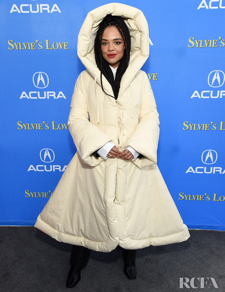 Tessa Thompson Wore Loewe To The 'Sylvie's Love' Sundance Film Festival After Party