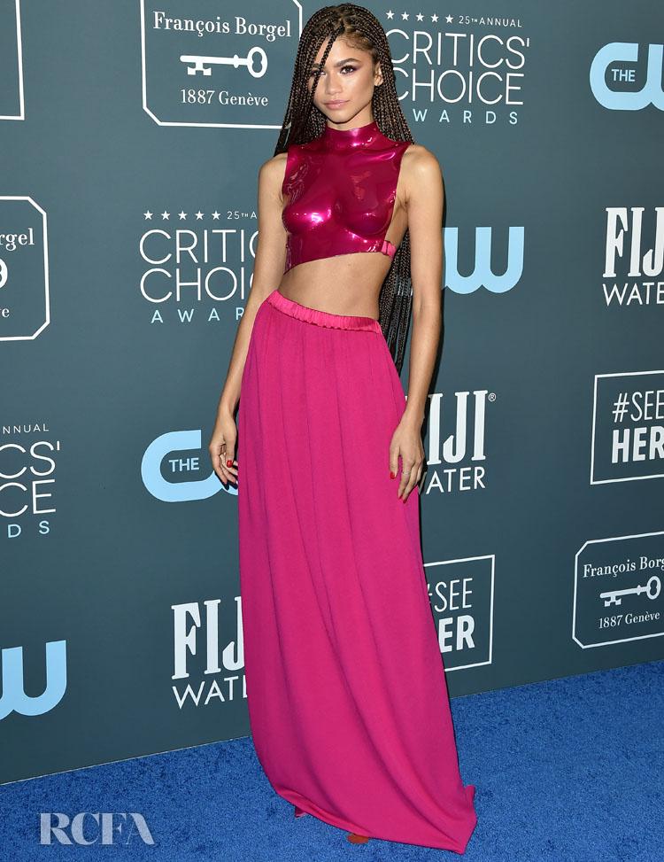 Zendaya Coleman In Tom Ford - 2020 Critics' Choice Awards