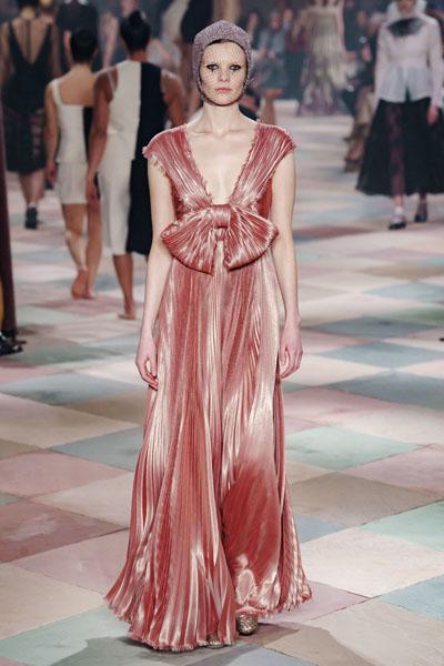 Alexa Chung Christian Dior @ The Harper's Bazaar Exhibition