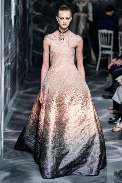 Demi Moore Christian Dior Haute Couture @ The Harper's Bazaar Exhibition