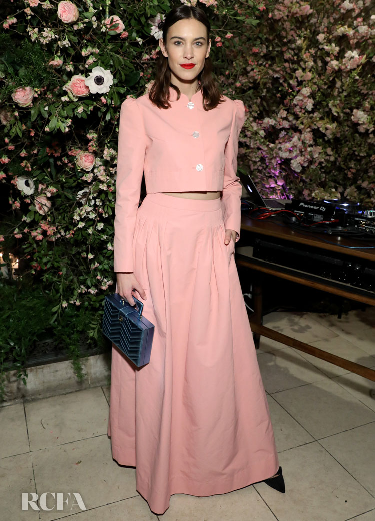 Alexa Chung Wore Minju Kim To The Netflix And Net A Porter X Next In Fashion Launch Event