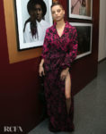 Angela Sarafyan Wore Tadashi Shoji To The Opening Of Vanity Fair: Hollywood Calling