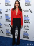 Aubrey Plaza In Alexander McQueen - 2020 Film Independent Spirit Awards
