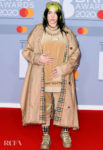 Billie Eilish In Burberry - The BRIT Awards 2020