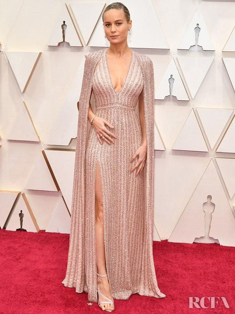 Brie Larson In Celine - 2020 Oscars